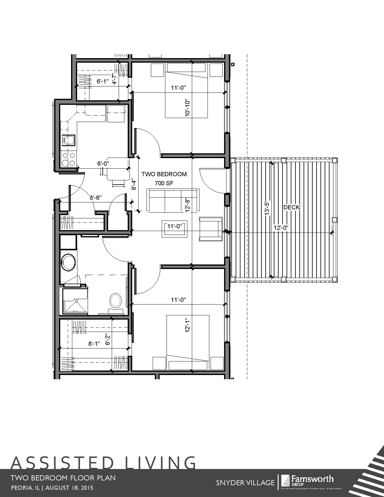 Two Bedroom With Deck