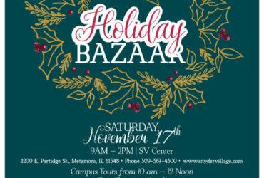 Snyder Village Hosts Holiday Bazaar