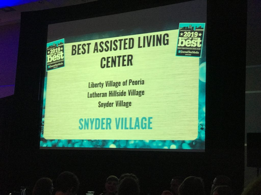 2019 Best Of The Best Award goes to Snyder Village | Snyder Village