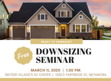 Free Downsizing Seminar