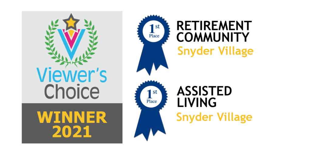Snyder Village Receives First Place in Viewer's Choice Awards