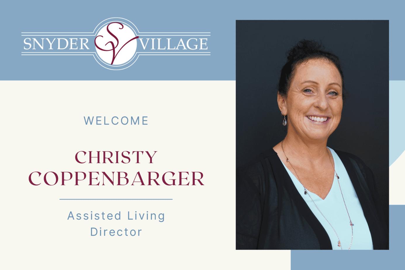 Snyder Village Names New Assisted Living Director